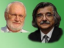 obrázok prof. Ružička a prof. Mičieta