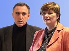 obrázok prof. Szolgay a RNDr. Pekárová