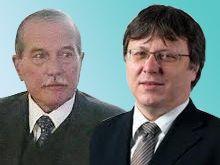 obrazok prof. Švec a prof. Kyselovič